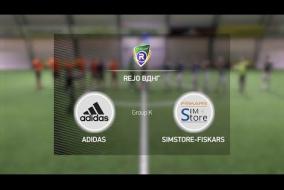 Adidas 1-3 SimStore Fiskars | Winter R-CUP | Твій регулярний турнір з міні-футболу