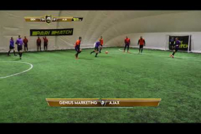 Обзор матча | GENIUS MARKETING 4 - 9 AJAX