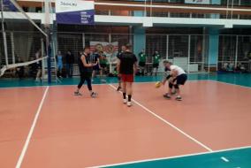 Волейбол 2019-2020. Матч ВАСО - ТНС энерго. Фрагмент 2. Второй сет. Концовка