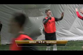 Обзор матча | ZEPPELIN 2 - 3 QUARTESIAN