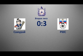 Вторая лига 2019/20. Самурай - РМС 0:3