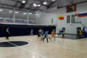 Баскетбол 2019-2020.  Девушки. Матч ВАСО - ВИВТ. Фрагмент 1