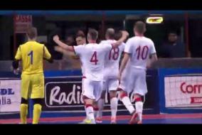 Лучшие моменты матча Беларусь 3:3 Италия  Отборочный  ЧМ по мини футболу