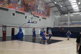 Баскетбол 2019-2020. Матч ВАСО - КОСМОС-НГ. Фрагмент 1. Начало