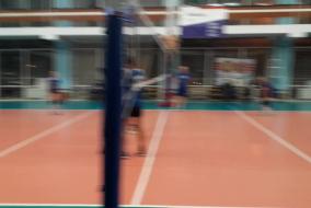 Волейбол 2019-2020. Матч ТНС ЭНЕРГО - В-СИНТЕЗКАУЧУК. Фрагмент 2 Второй сет концовка