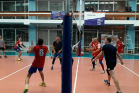Волейбол 2019-2020. Матч СБЕРБАНК - АЕДОН. Фрагмент 2. Середина 2-й партии