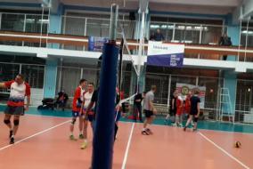 Волейбол 2019-2020. Матч СБЕРБАНК - АЕДОН. Фрагмент 3. Концовка 2-й партии