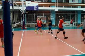 Волейбол 2019-2020. Матч СБЕРБАНК - АЕДОН. Фрагмент 4. Третья партия. АЕДОН громит 13-6