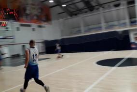 Баскетбол 2019-2020. Матч ЭФКО - СОЗВЕЗДИЕ. Фрагмент 1. первая половина