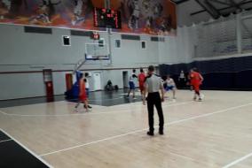 Баскетбол 2019-2020. Матч ЭФКО - СОЗВЕЗДИЕ. Фрагмент 2. Созвездие почти догнали. Тайм-аут ЭФКО