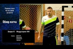 Первая лига 2019/20. Бюро К - МФК