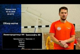 Первая лига 2019/20. Нижегородптица НН - Транснефть-Верхняя Волга 8:3