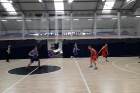 Баскетбол 2019-2020. Матч ВАСО - СОЗВЕЗДИЕ. Фрагмент 2. Последняя четверть. Тайм-аут при счете 36:37