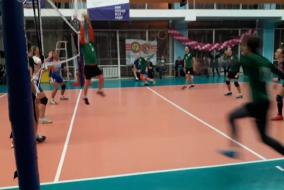 Волейбол 2019-2020. Матч ПРОКУРАТУРА - СОЗВЕЗДИЕ. Фрагмент 2 Концовка