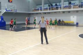 Баскетбол 2019-2020. ДЕВУШКИ. Матч СБЕРБАНК - ВИВТ (полностью)