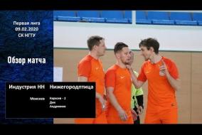 Первая лига 2019/20. Нижегородптица НН - МФК