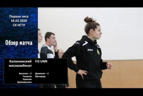 Первая лига 2019/20. Балахнинский мясокомбинат - FIS UNN 5:3