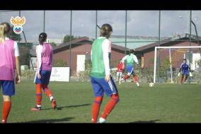 Женская сборная России тренируется в Турции