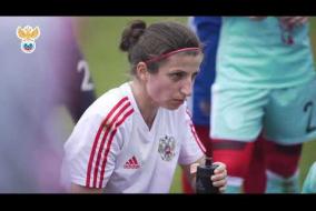 Женская сборная России провела двусторонний матч в Турции