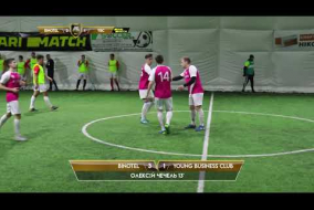 Обзор матча | BINOTEL 5 - 3 YOUNG BUSINESS CLUB