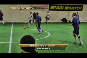 Обзор матча | DEVELOPEX 1 - 4 GOLAZO