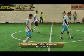 Обзор матча | ДИЗАЙН ФАСАД 4 - 2 CENTRAL YARD
