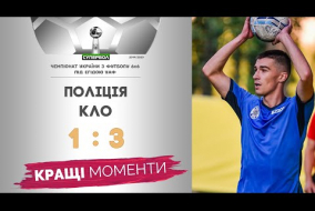 СУПЕРБОЛ - чемпіонат України з футболу ⚽️ 6×6, тур 1, сезон 2019/2020. ПОЛІЦІЯ 1:3 КЛО