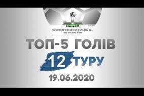 ТОП-5 ГОЛІВ, Супербол, 12 тур, 19 червня