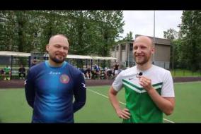 Драконы - ФК Шторм: послематчевое интервью (Виталий, Денис)