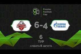 Арсенал 6:4 Газпром Сера