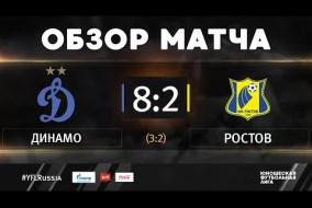 «Динамо» - «Ростов». Обзор матча | 1 тур | ЮФЛ-1 2020/21