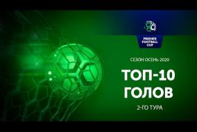 Лучшие голы 2-го игрового дня Регулярного Чемпионата PFC
