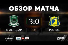 «Краснодар» - «Ростов». Обзор матча | 2 тур | ЮФЛ-2 2020/21