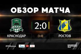 «Краснодар» - «Ростов». Обзор матча | 2 тур | ЮФЛ-1 2020/21