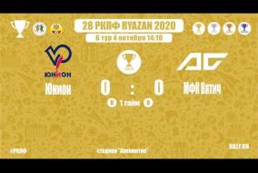 28 РКЛФ   Золотой кубок   Юнион-МФК Вятич   0:0