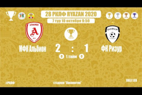 28 РКЛФ | Золотой кубок | МФК Альбион-ФК РИЗУР | 2:1