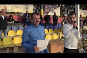 «Днестровец-Затока» – «Тарутино-Сегедка» (0:1). Церемония награждения. Видео Дмитрия Сердюка