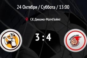 Горносталь - Любители+. Обзор матча.