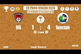 28 РКЛФ | Бронзовый кубок | ОКБ-Ижлеспром | 1:4