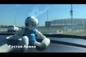 Путешествие CUPPI  по стадионам России