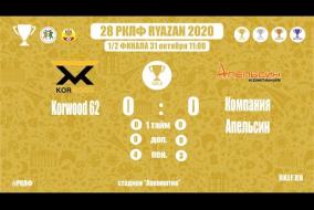 28 РКЛФ   Золотой кубок   Korwood 62-Компания Апельсин   0:0 (4:3 пен.)