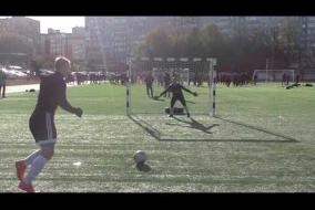 Серия пенальти в матче ЛФК Авангард 4-3 Cosmica