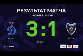 «Динамо» - «Строгино». Обзор матча| 10 тур | ЮФЛ-1 2020/21