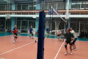 Волейбол 2020-2021. Матч ВЗРМ - ПРОКУРАТУРА. Фрагмент 2. КОнцовка 2 сета