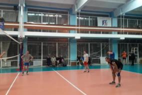 Волейбол 2020-2021. Матч ВОДОКАНАЛ - КОСМОС-НЕФТЬ-ГАЗ. Фрагмент 1 сета