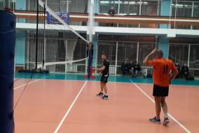 Волейбол 2020-2021. Матч ЭФКО - ЛОКОМОТИВ. Фрагмент 1. Концовка 1 сета