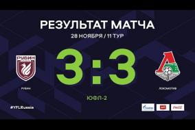 «Рубин» - «Локомотив». Обзор матча| 11 тур | ЮФЛ-2 2020/21