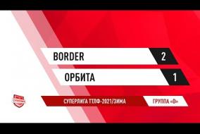 29.11.2020.Border-Орбита-2:1