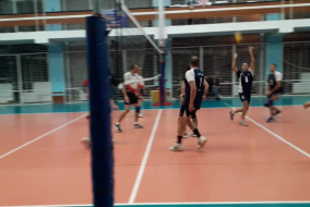 Волейбол 2020-2021. матч КОСМОС-НГ - ВАСО. Фрагмент 1. Первый сет концовка
