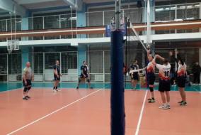 Волейбол 2020-2021. матч КОСМОС-НГ - ВАСО. Фрагмент 2. Концовка